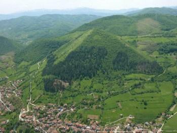 pirámide de Visoko Bosnia y Hercegovina
