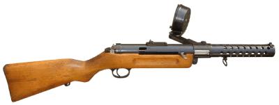 Ametralladora Bergmann MP18
