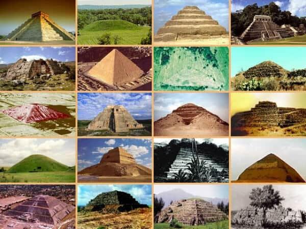 fotos de pirámides en el mundo