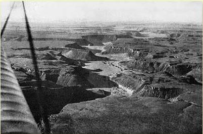 foto aérea valle egipto