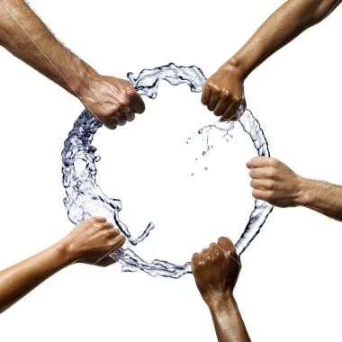 pelea agua