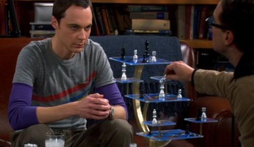 Big bang theory ajedrez