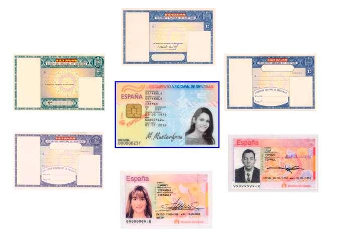 Evolución del documento nacional de identidad (DNI)