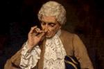 hombre fumando rapé