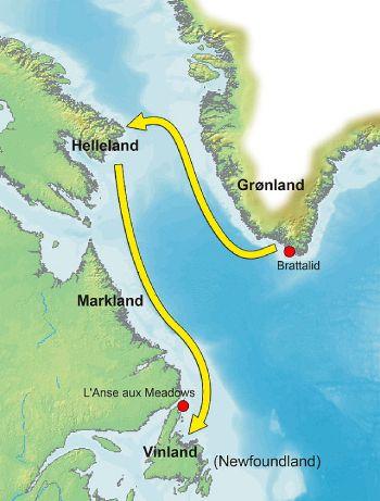 ruta vikingos america