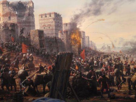 asedio constantinopla 1453