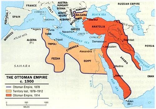 perdidas territoriales imperio otomano