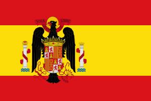Bandera de España entre 1945-1977