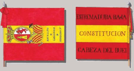 ejemplos de bandera rojigualda usada en la guerra de independencia española