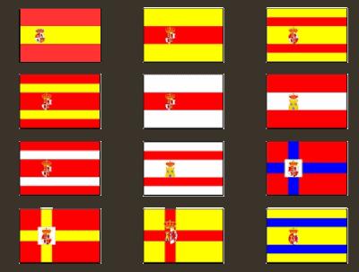 Propuestas de banderas para España 1785