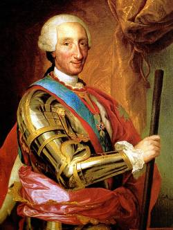 Carlos III rey de España