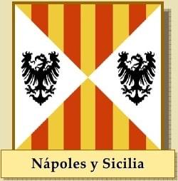 bandera de nápoles y sicilia