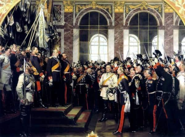 segundo reich alemán bismarck versalles