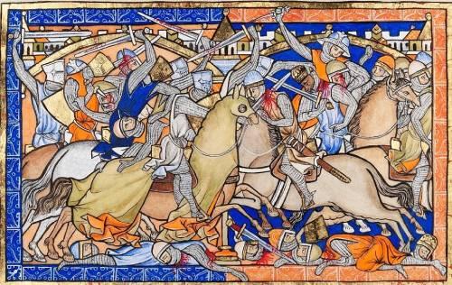 combate cruzadas