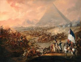 Napoleón pirámides