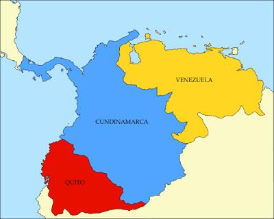 provincias de la gran colombia