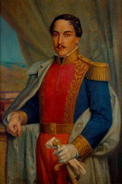 Cuadro de Francisco de Paula Santander