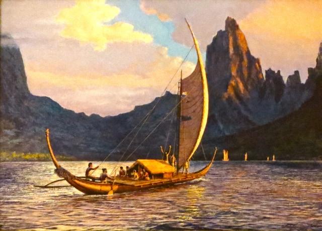 Canoa pacífico