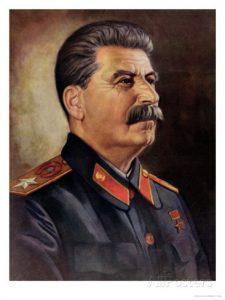 El dictador de la Unión Soviética Iósif Stalin