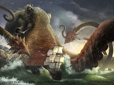 kraken mitologia