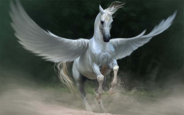 caballo alado pegaso