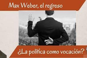 max weber política