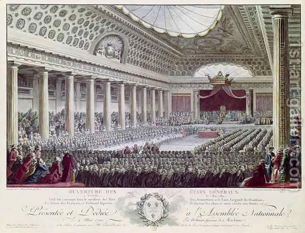 estados generales Luis XVI