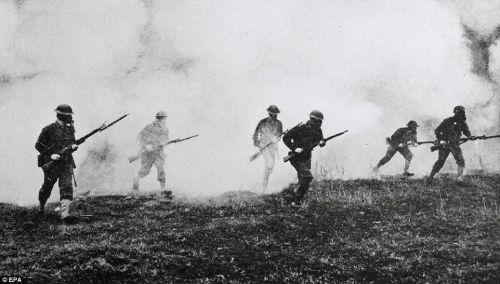 soldados wwi