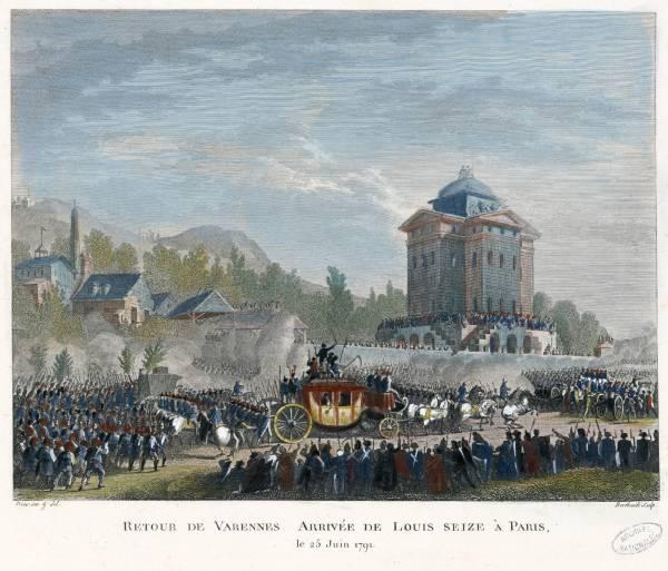 Luis XVI fuga