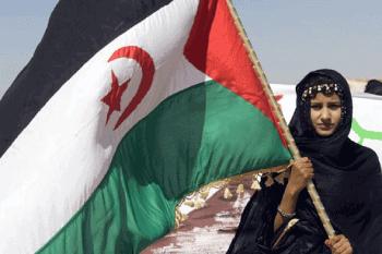 Saharaui bandera