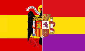 Banderas España Guerra civil