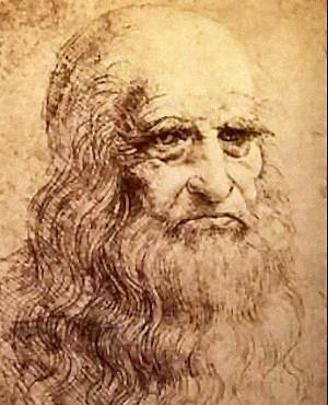 Da Vinci autorretrato