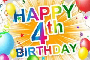globos cuarto aniversario