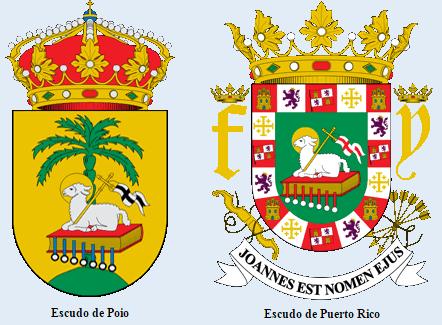 Escudos Poio Puerto Rico