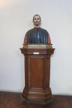 Maquiavelo busto