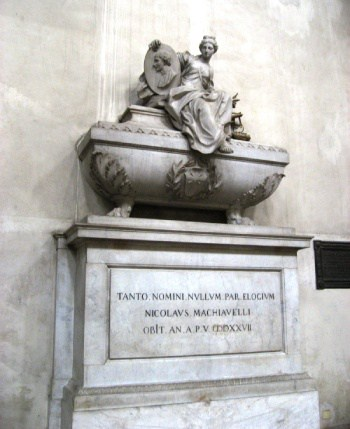 Tumba Maquiavelo