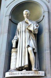 Estatua maquiavelo