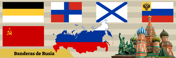 Banderas de Rusia