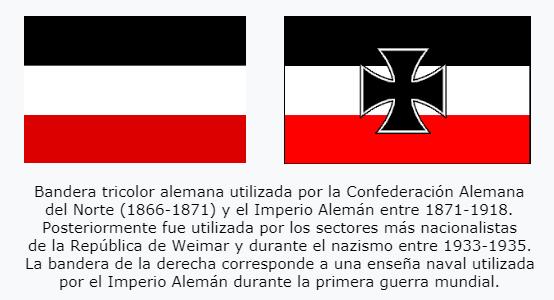 Imperio alemán bandera
