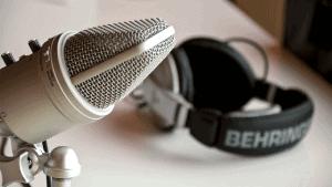Micrófono cascos