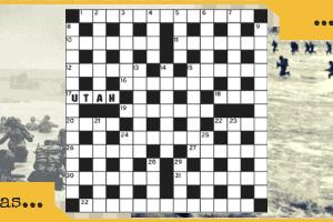 Crossword Normandy