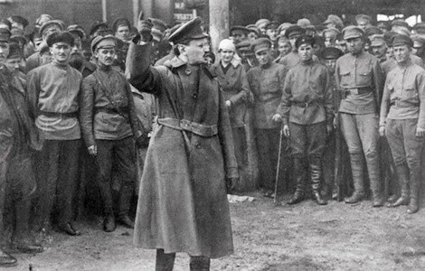 Trotsky militar