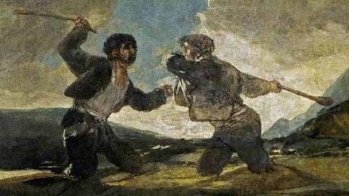 Duelo a Garrotazos