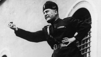 Mussolini discurso