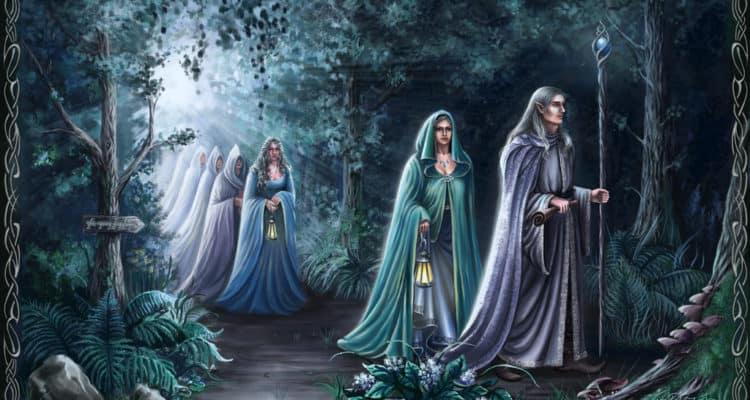 Elfos mitología