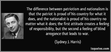 sydney harris nacionalismo