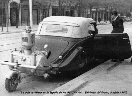gasógeno vehículo