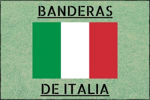 Entrada Banderas de Italia