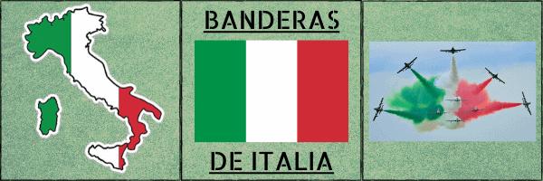 Foto portada Banderas de Italia blog
