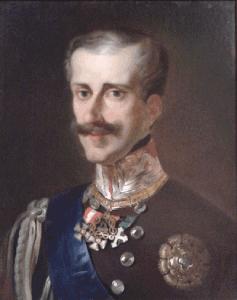 Retrato de Carlos Alberto de Saboya
